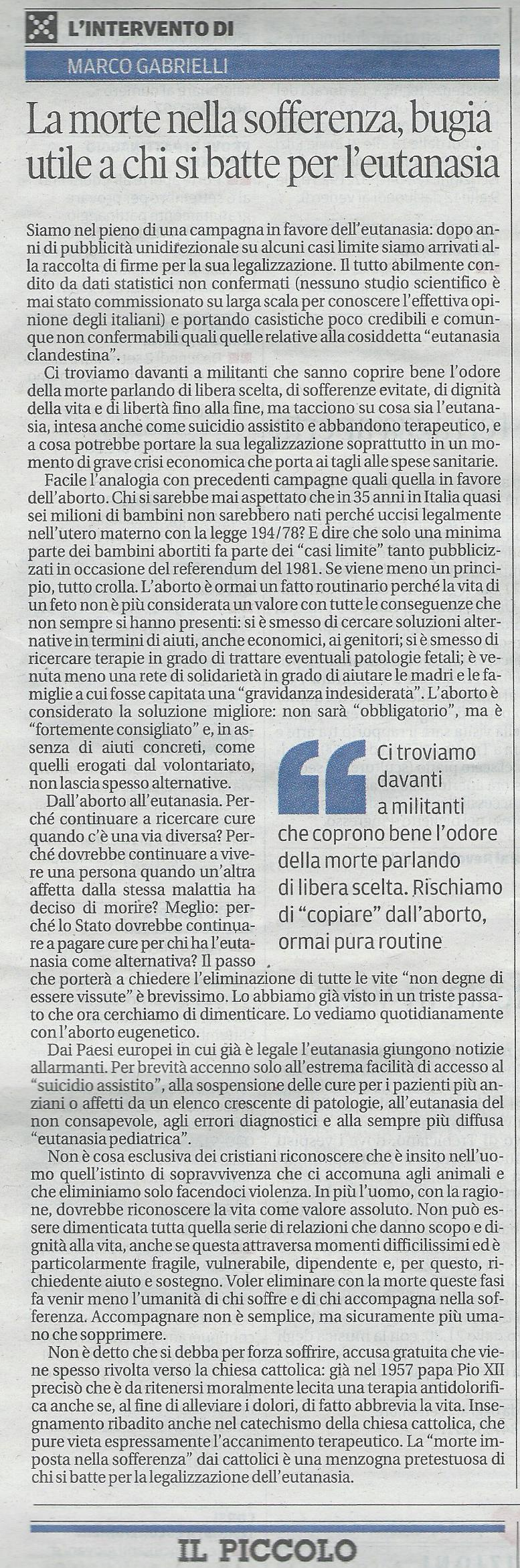2013-08-29 Il Piccolo pagina 32