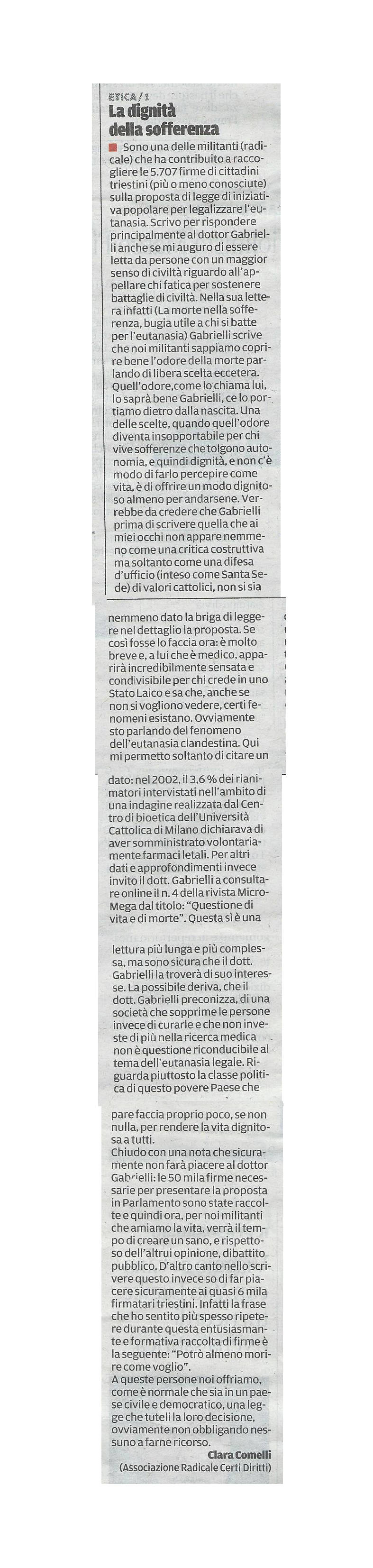 2013-09-12 Il Piccolo pagina 34 Intervento Comelli