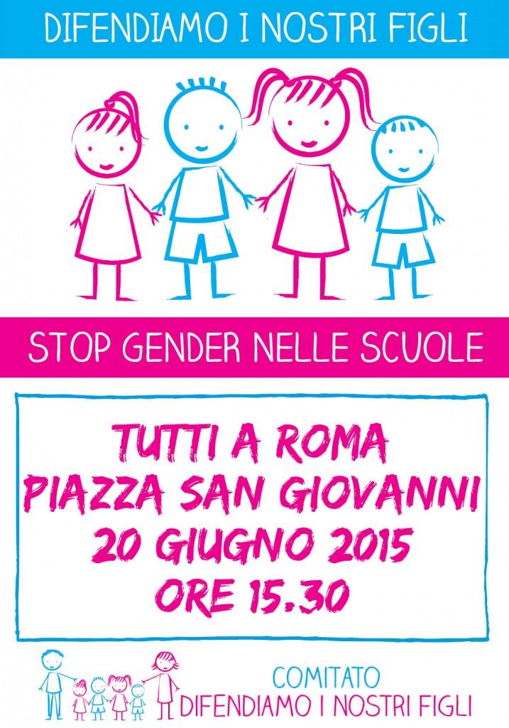 2015-06-20 Volantino Difendiamo i nostri figli