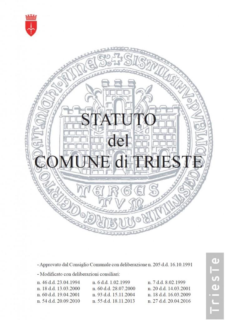 2016-06-10 Statuto Comune di Trieste
